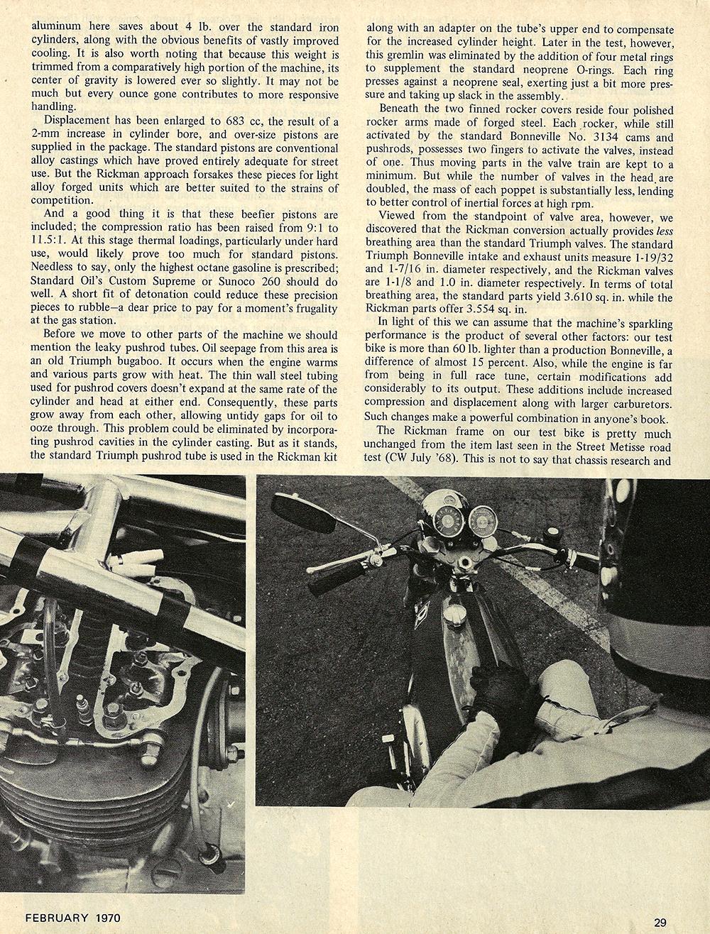 1970 Rickman 8 valve Triumph road test 02.jpg