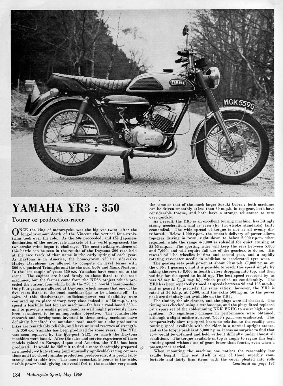 1969 Yamaha YR3 350 road test 1.jpg
