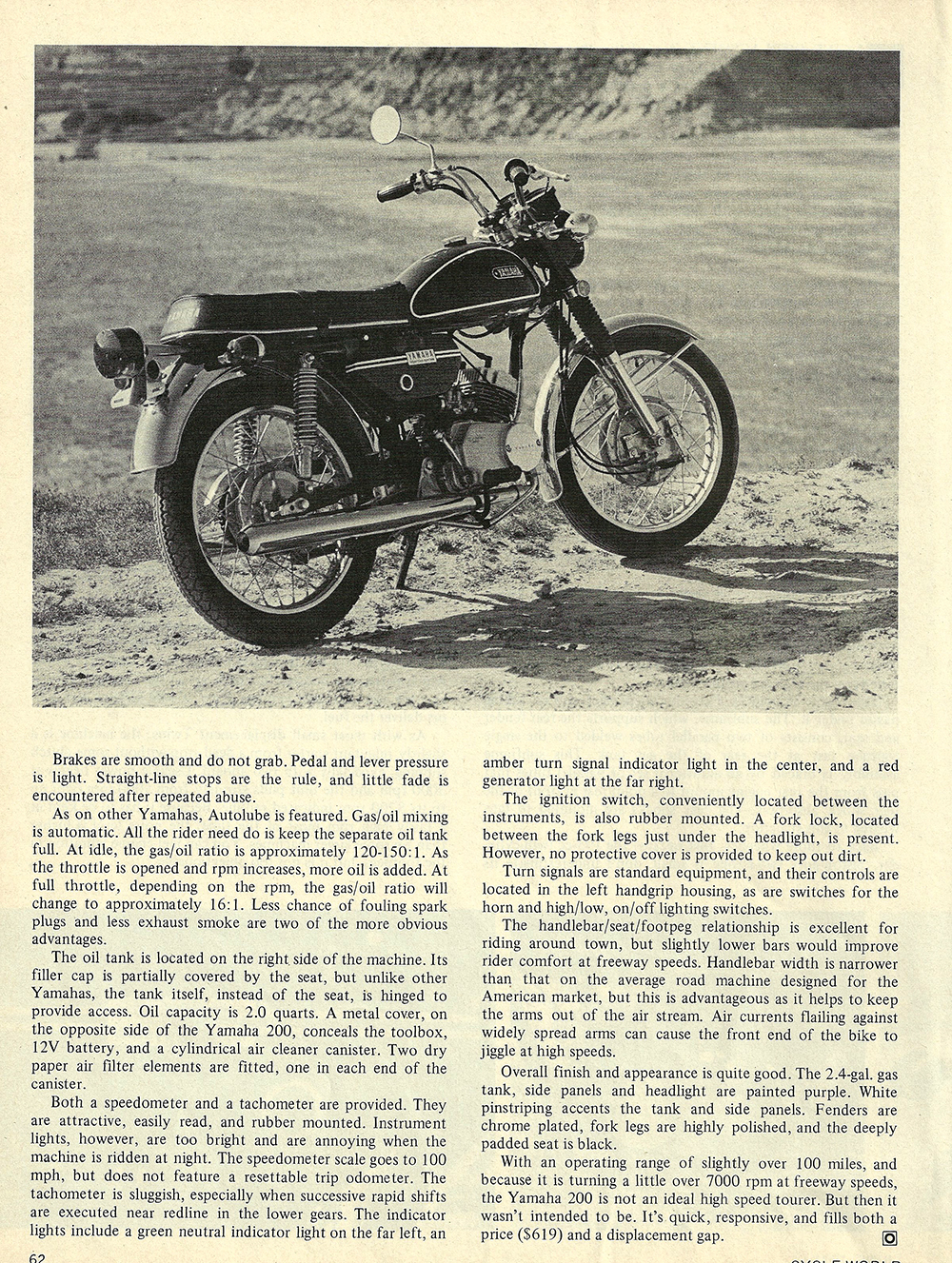1971 Yamaha 200 CS3B road test 03.jpg