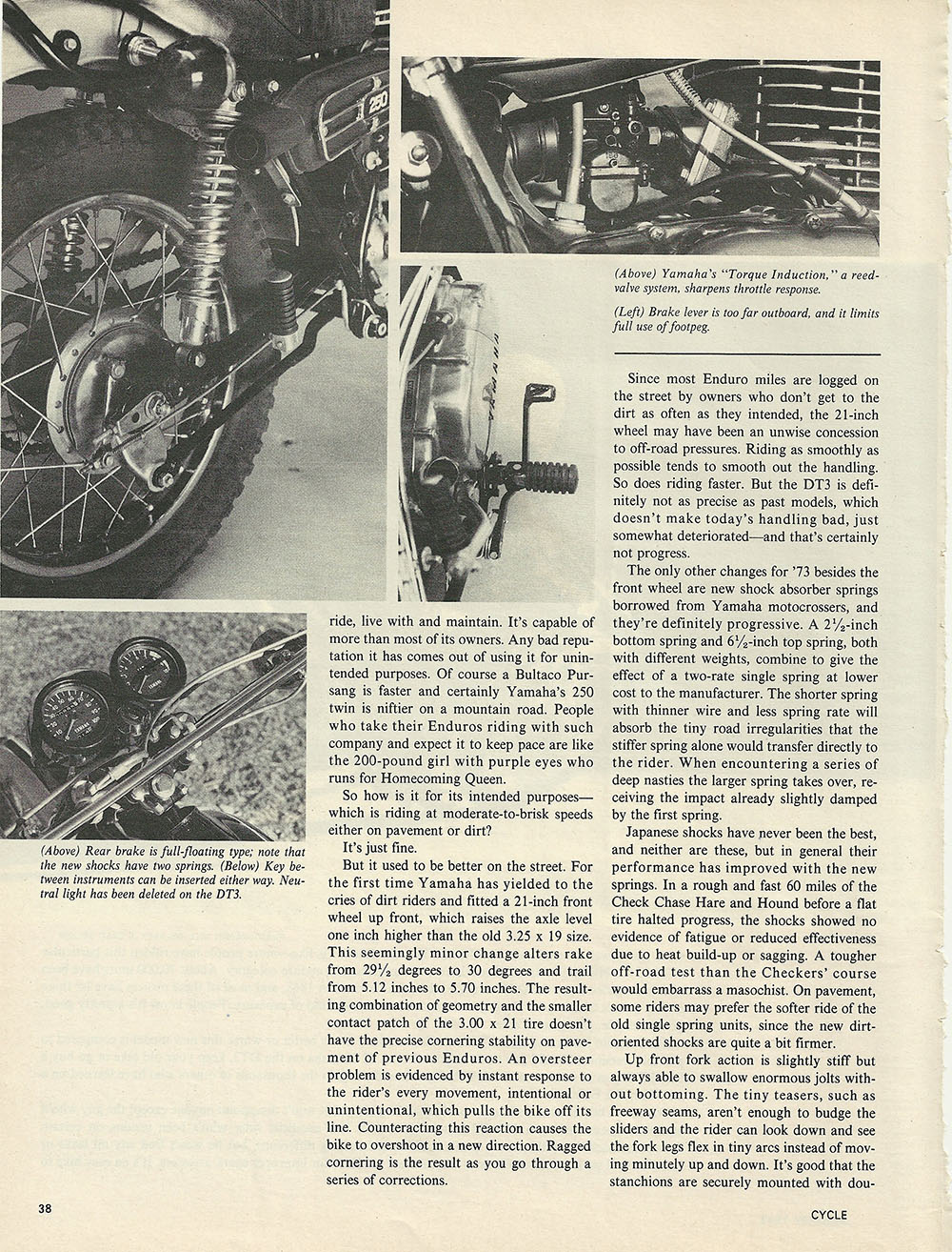 1973 Yamaha DT3 Enduro 250 road test p2.JPG