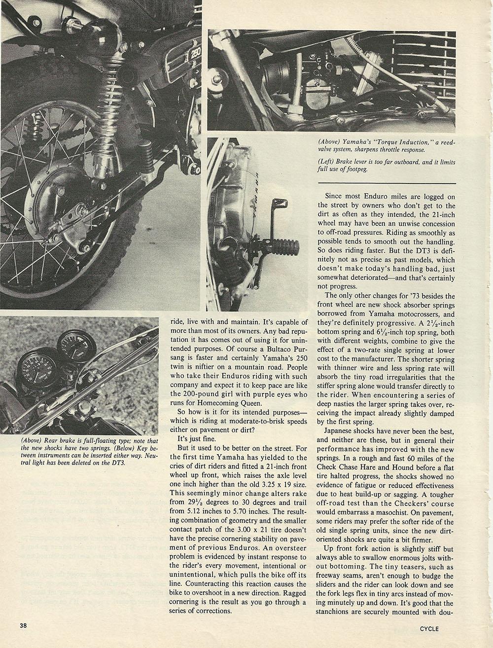1973 Yamaha DT3 Enduro 250 road test p2.JPG