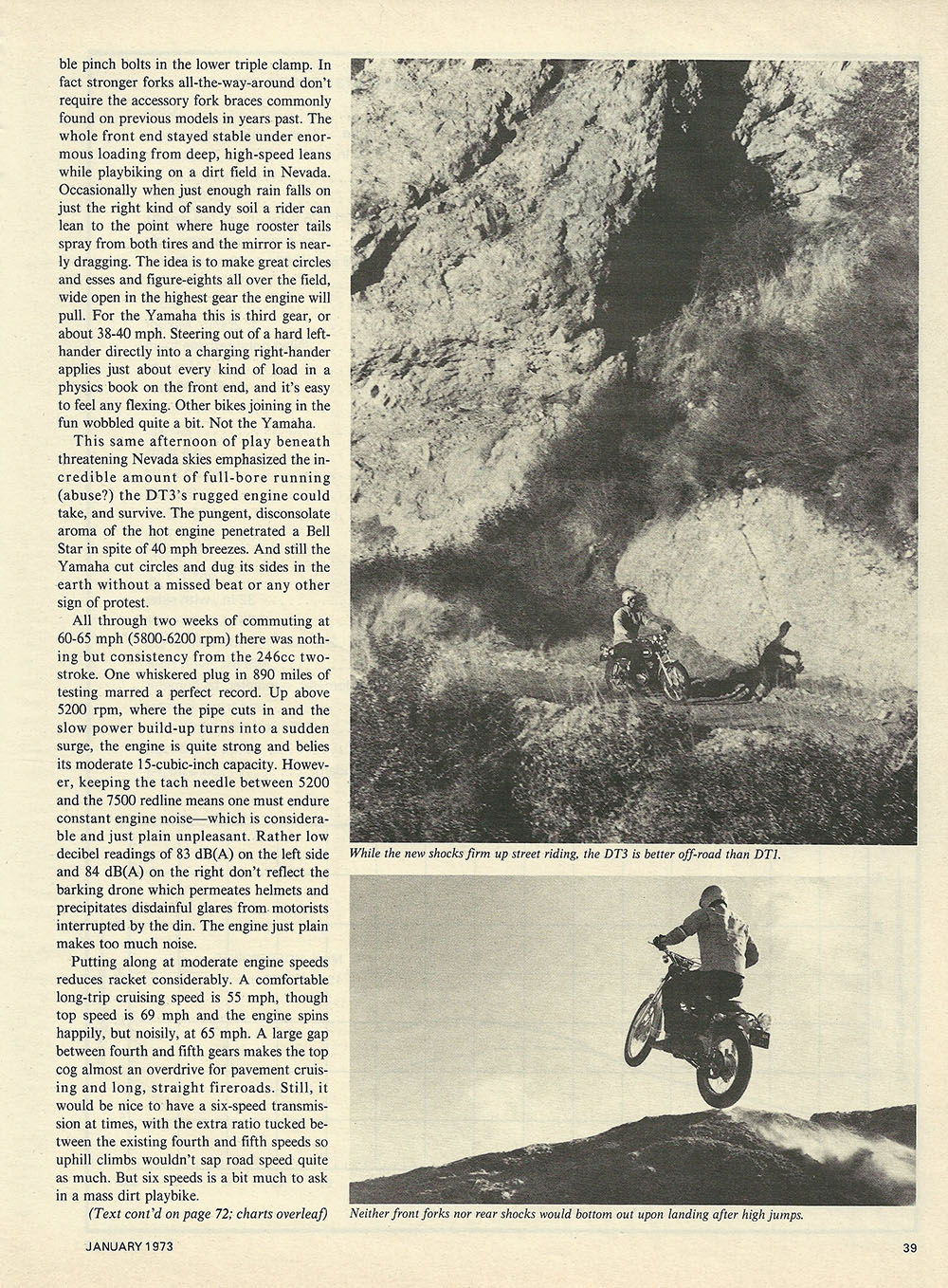 1973 Yamaha DT3 Enduro 250 road test p3.JPG