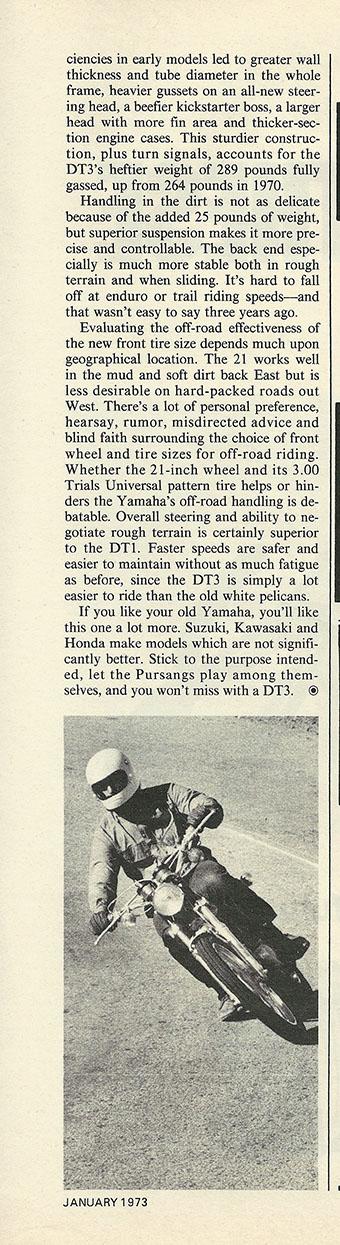 1973 Yamaha DT3 Enduro 250 road test p6.JPG