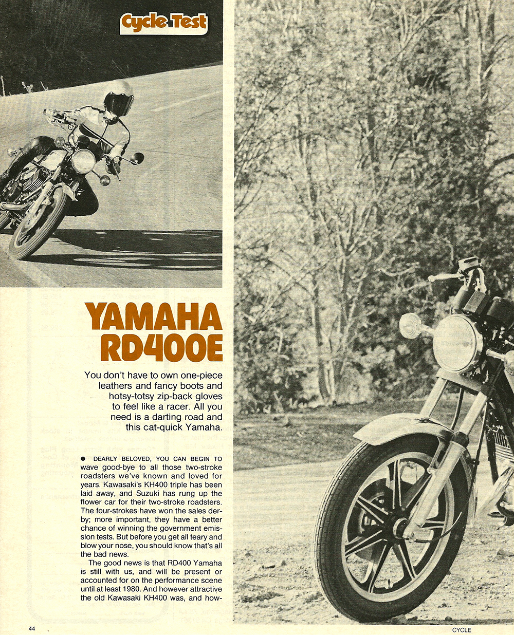 1977 Yamaha RD400E road test 1.jpg