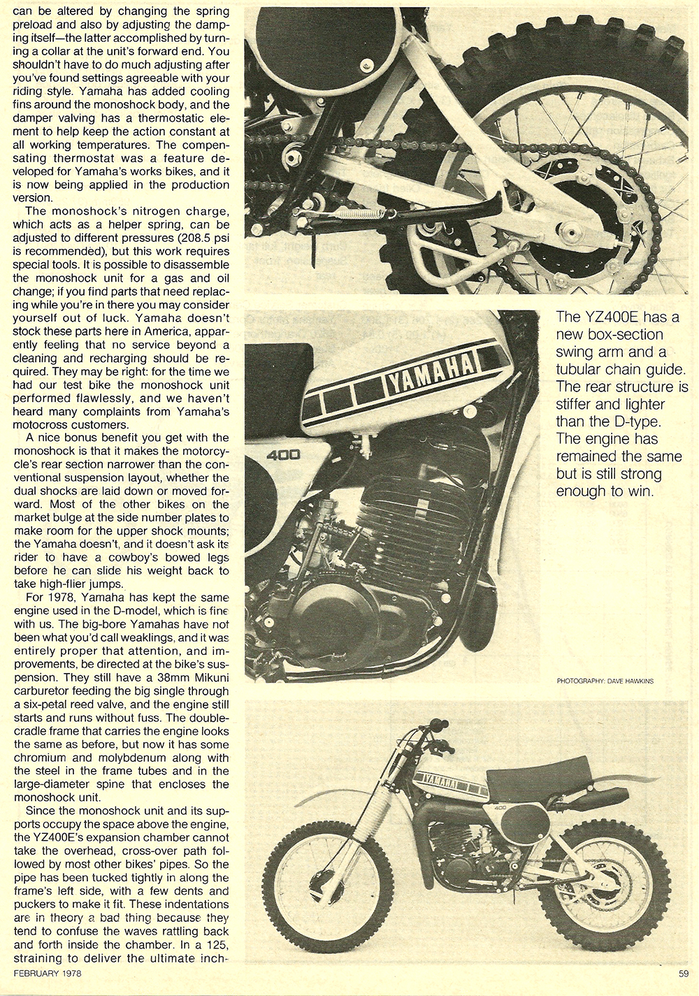 1978 Yamaha YZ400E road test 4.jpg