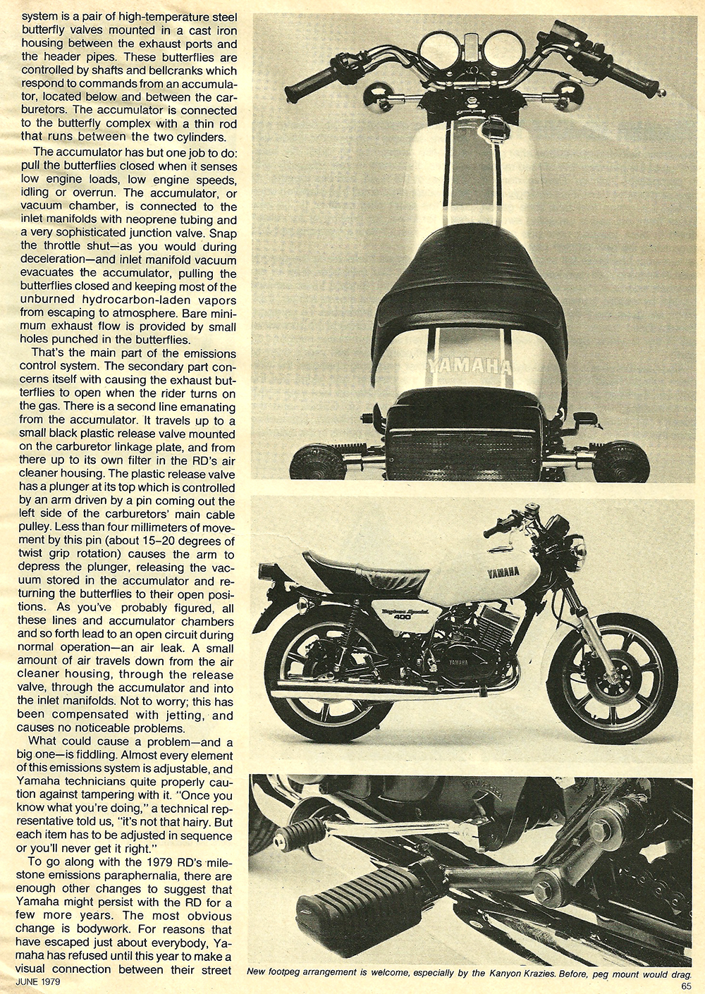 1979 Yamaha RD400F road test 04.jpg