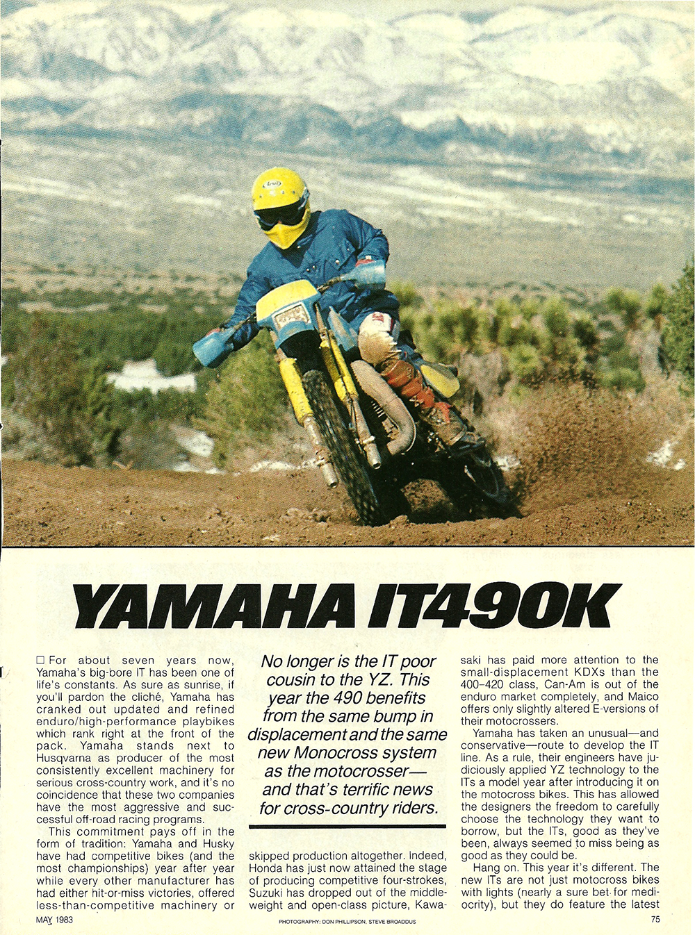 1983 Yamaha IT490K road test 1.jpg