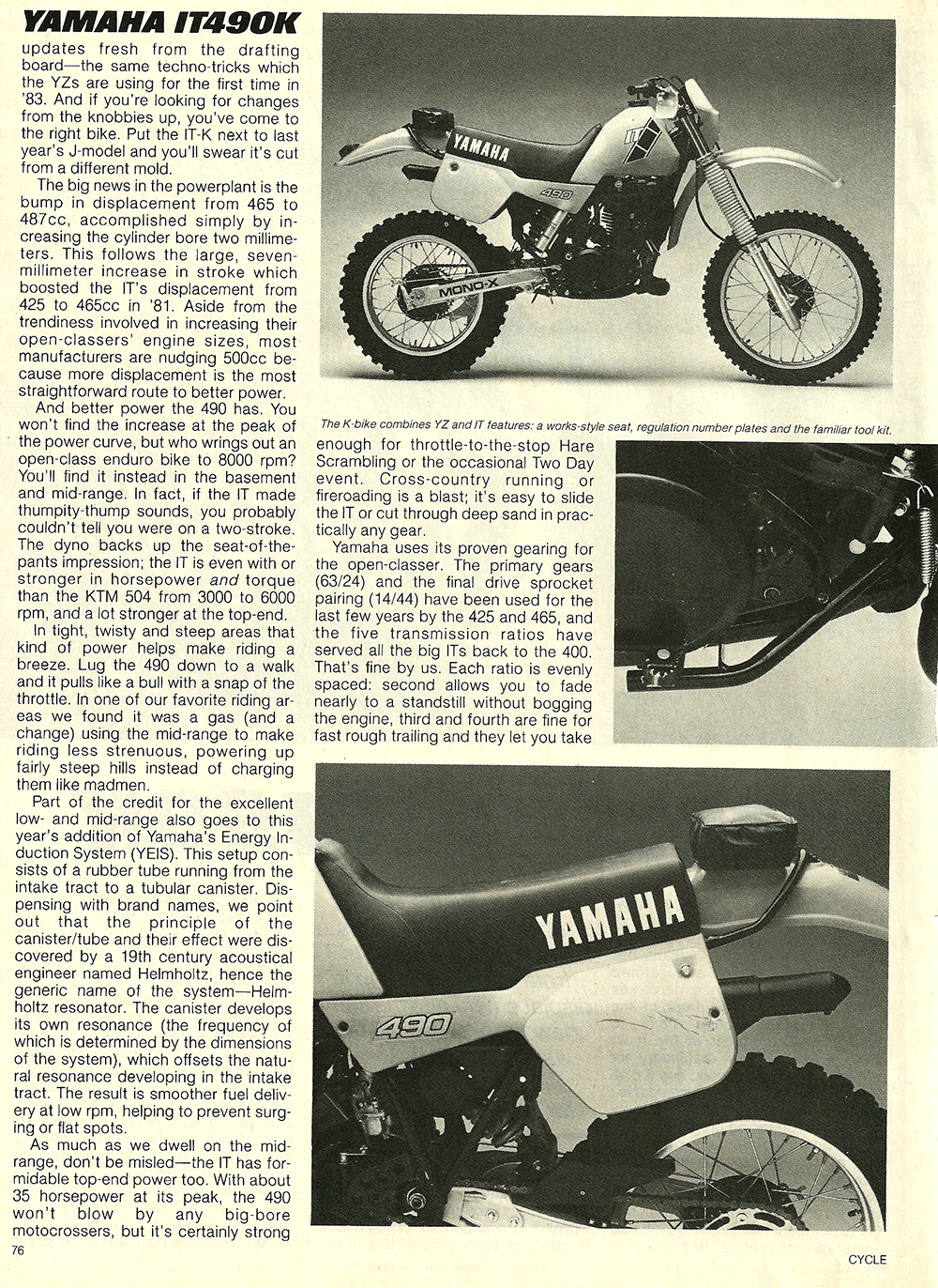 1983 Yamaha IT490K road test 2.jpg