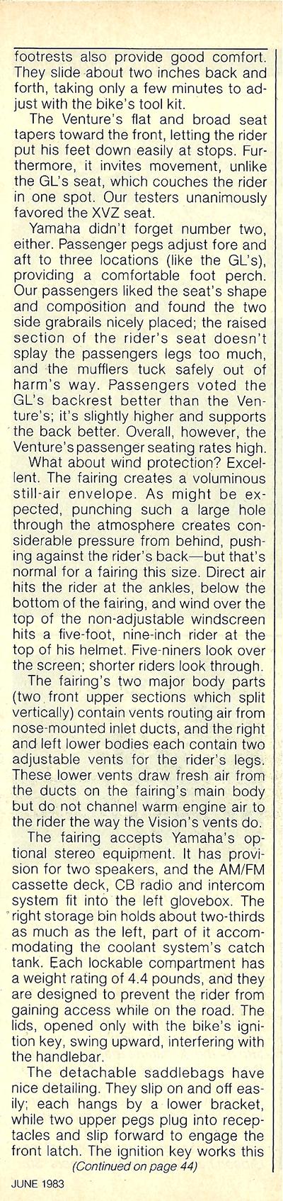 1983 Yamaha XVZ12TK Venture road test 10.jpg