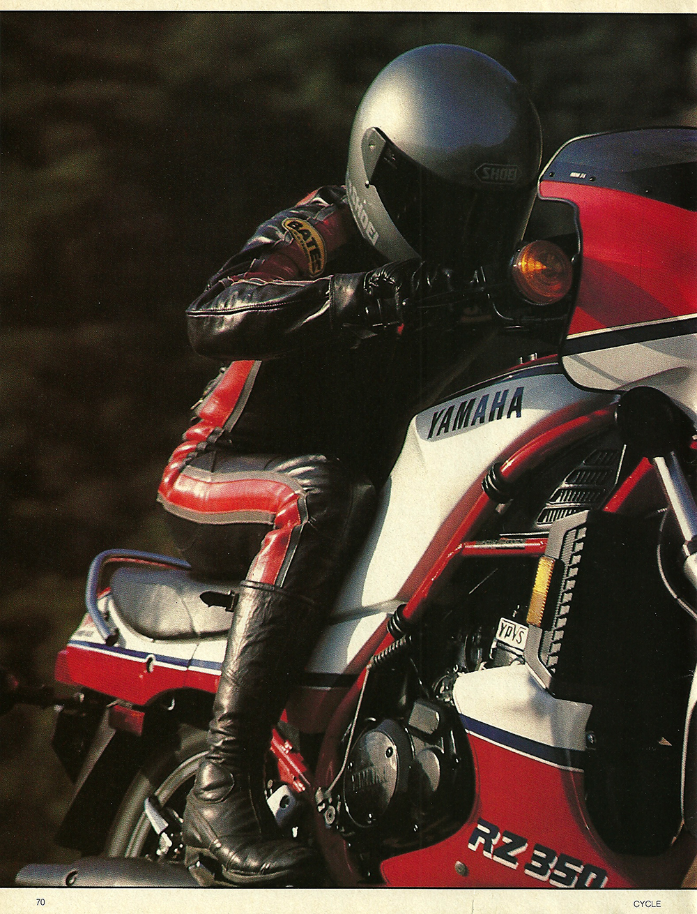 1984 Yamaha RZ350L road test 01.jpg