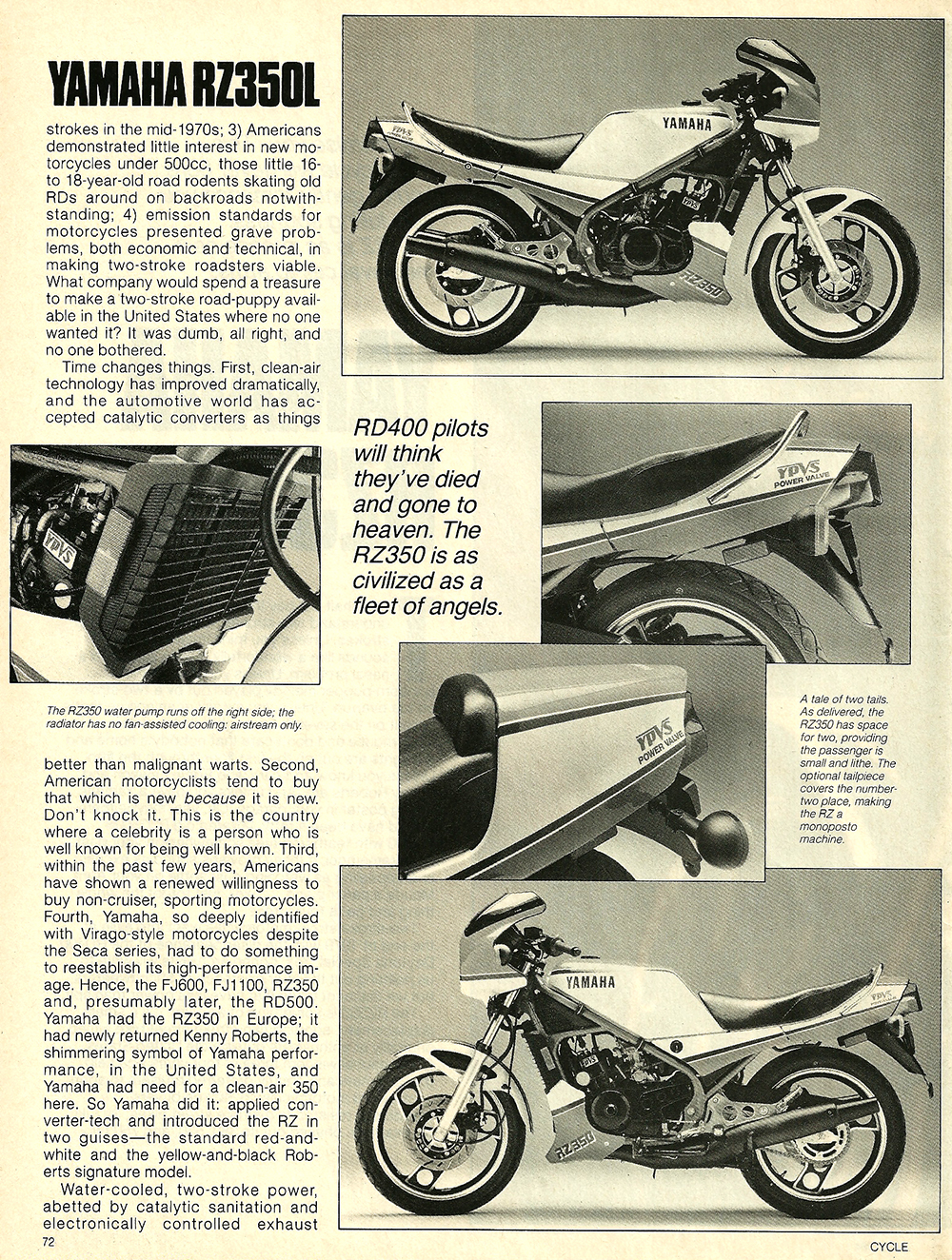 1984 Yamaha RZ350L road test 03.jpg