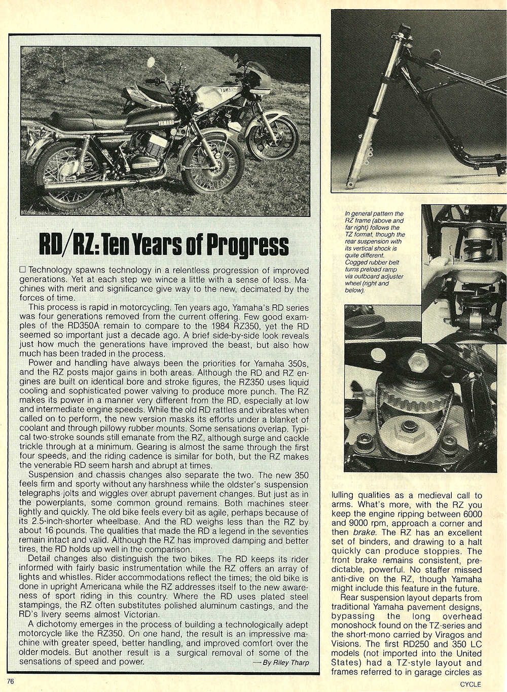 1984 Yamaha RZ350L road test 07.jpg