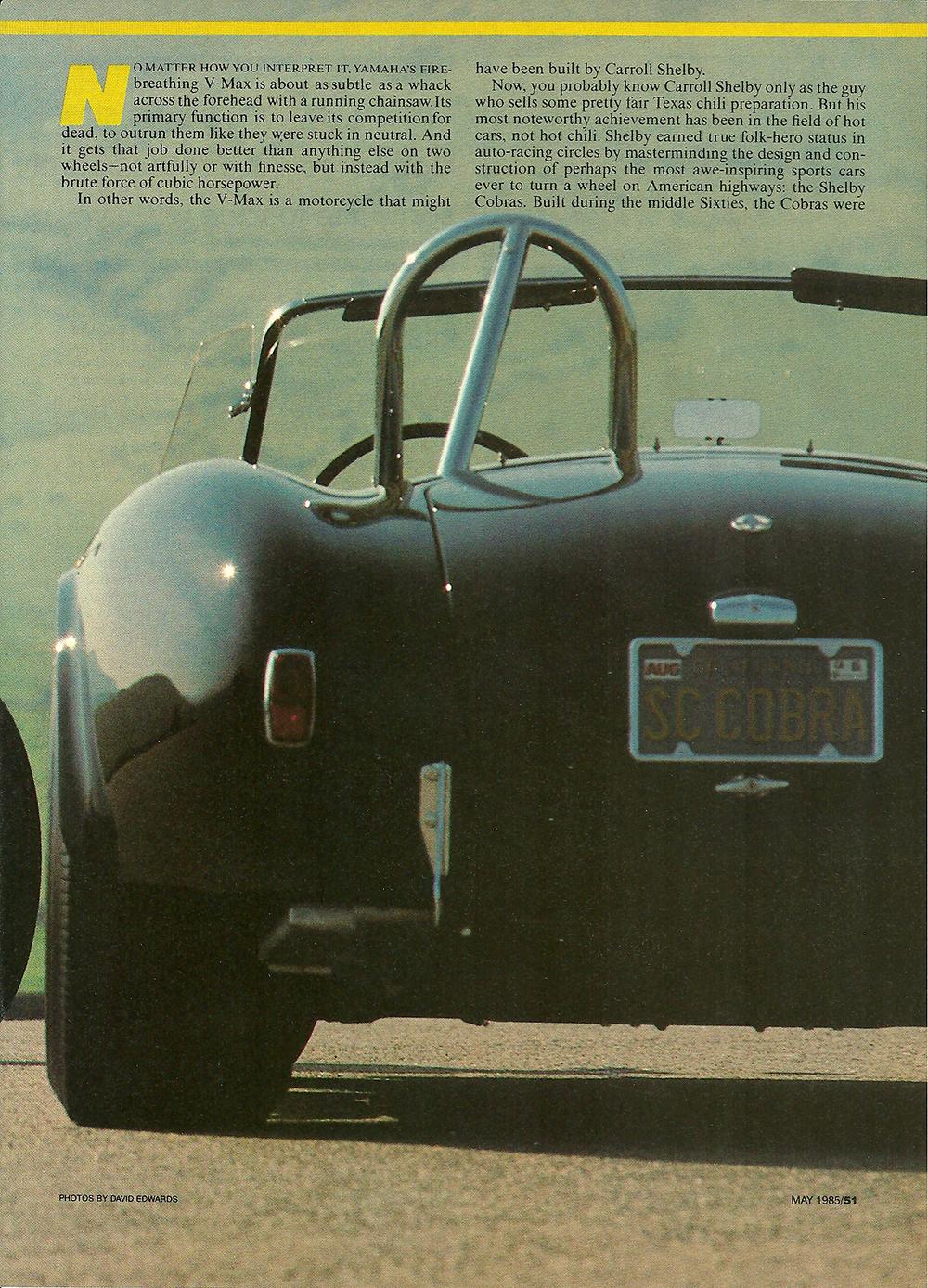 1985 Yamaha Vmax vs 427 Cobra 02.jpg