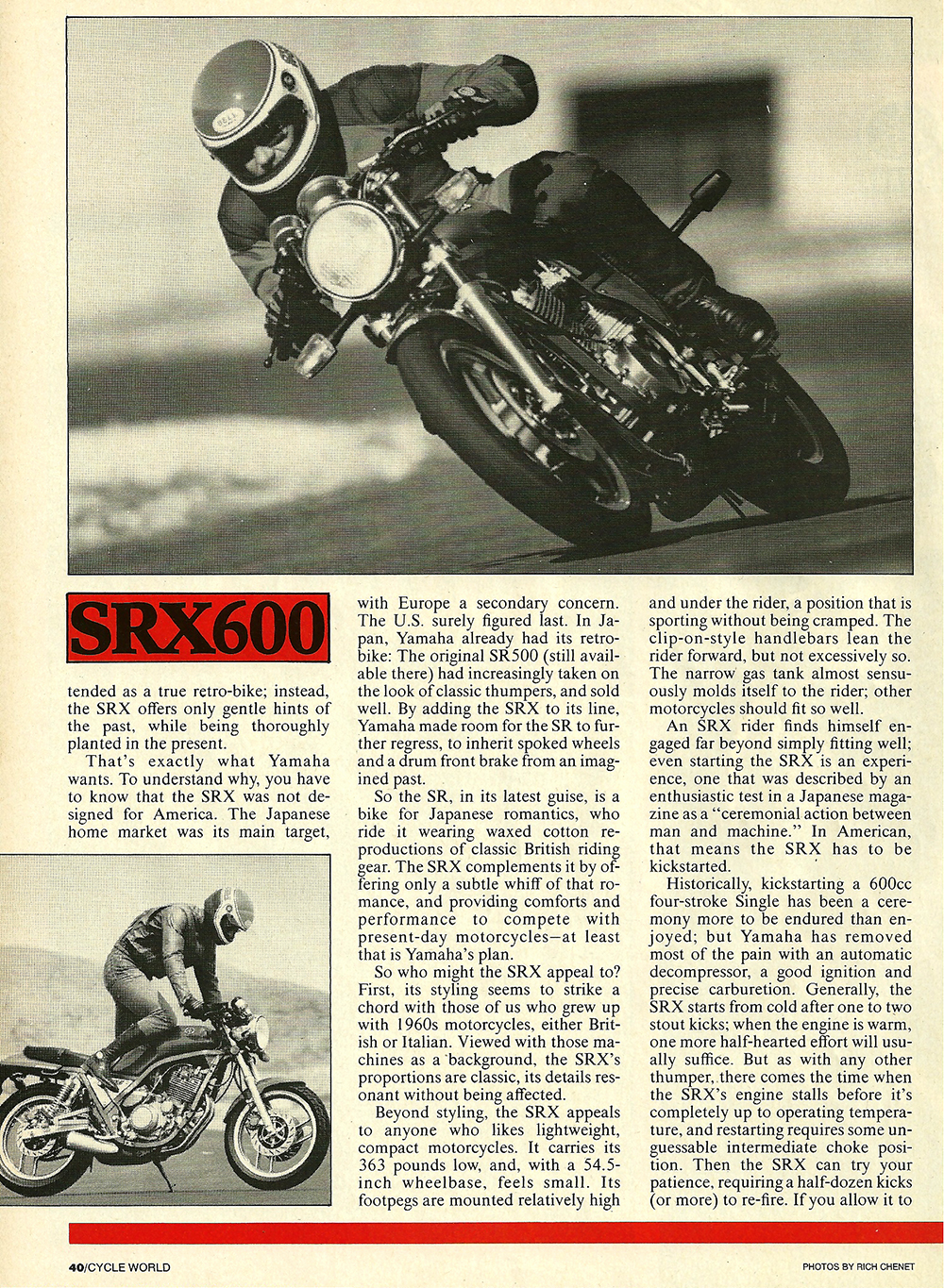1986 Yamaha SRX600 road test 03.jpg