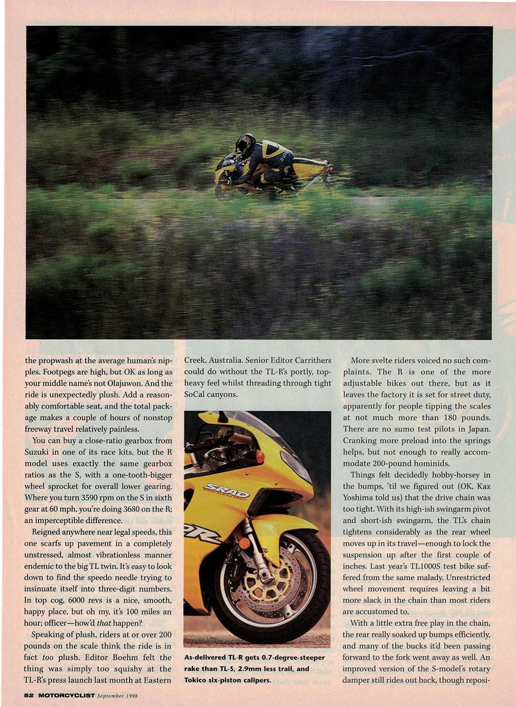 1998 Suzuki TL1000R road test 05.jpg