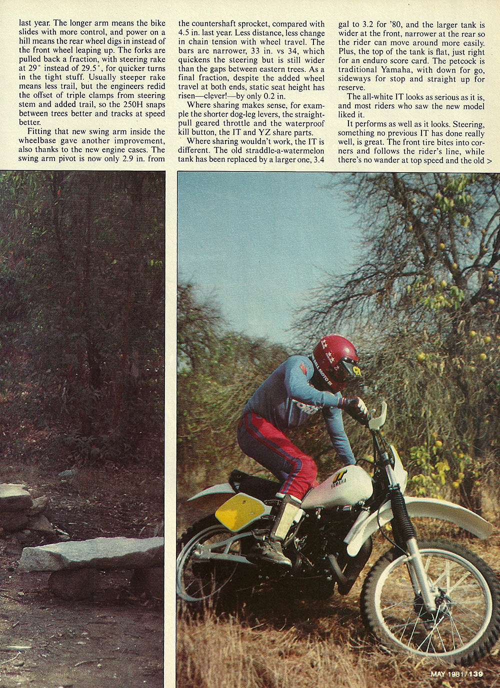 1981 Yamaha IT250H road test 04.jpg