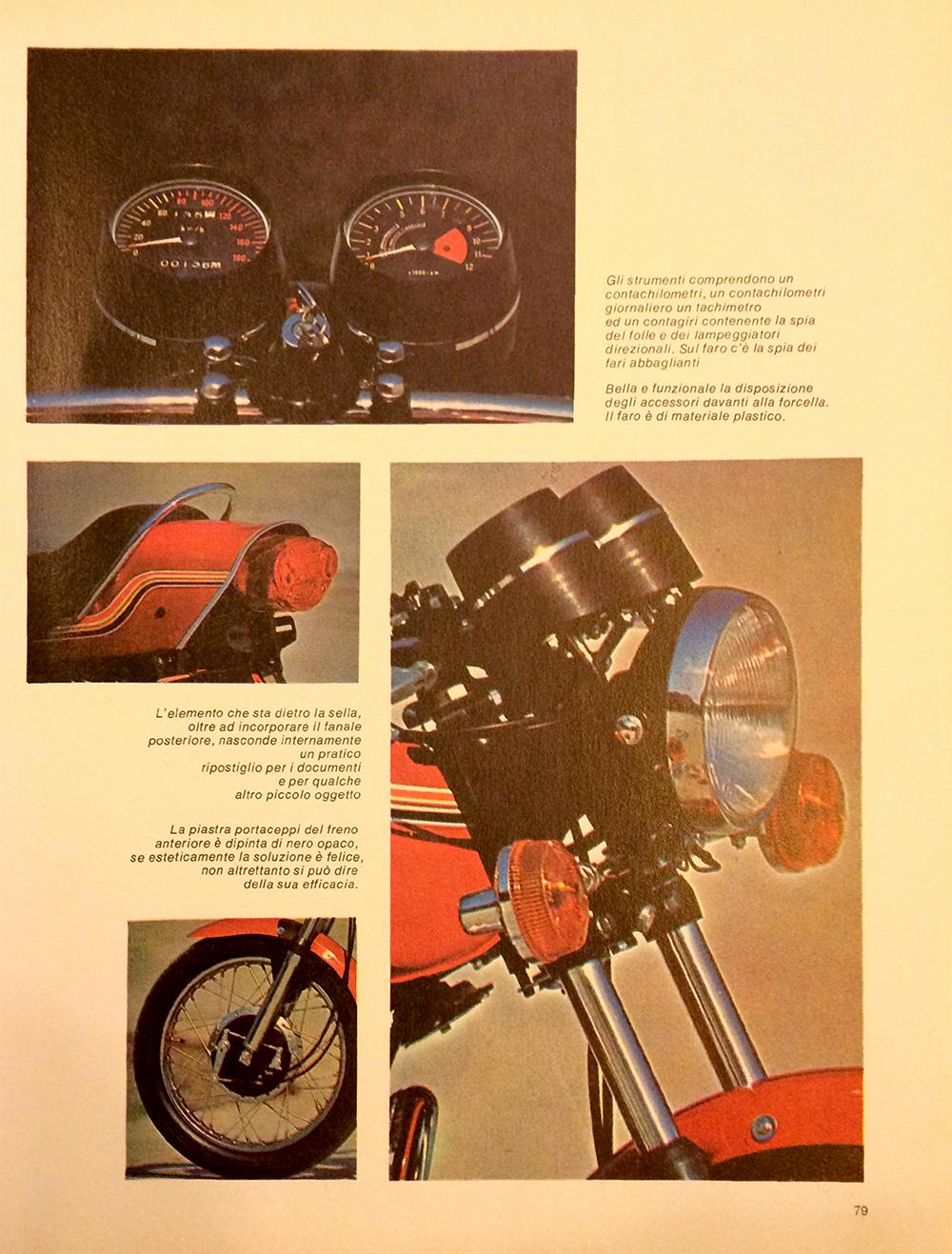 1971 Kawasaki 350 S2 Italy road test 07.jpg