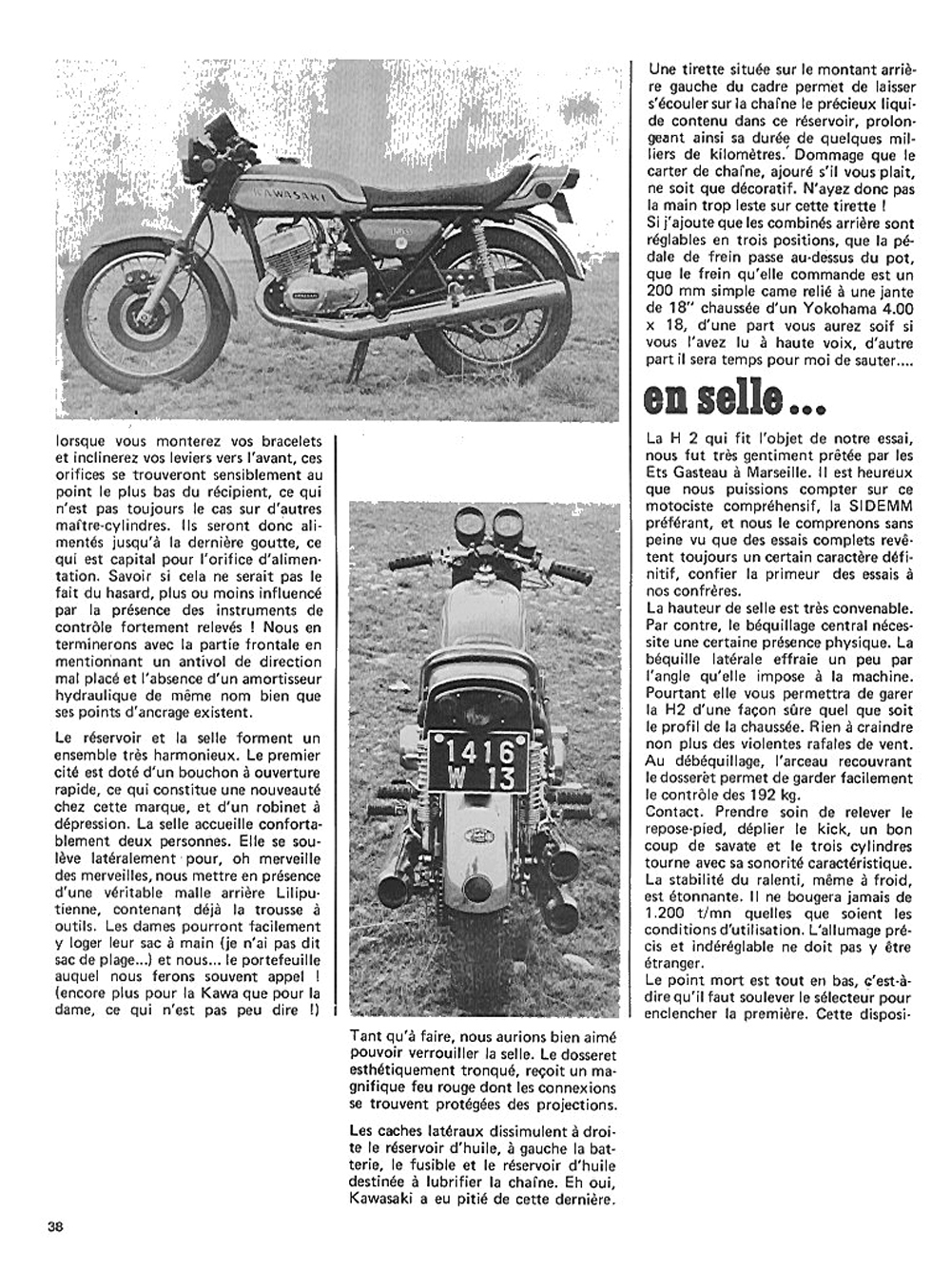 1972 Kawasaki H2 750 road test france 03.jpg
