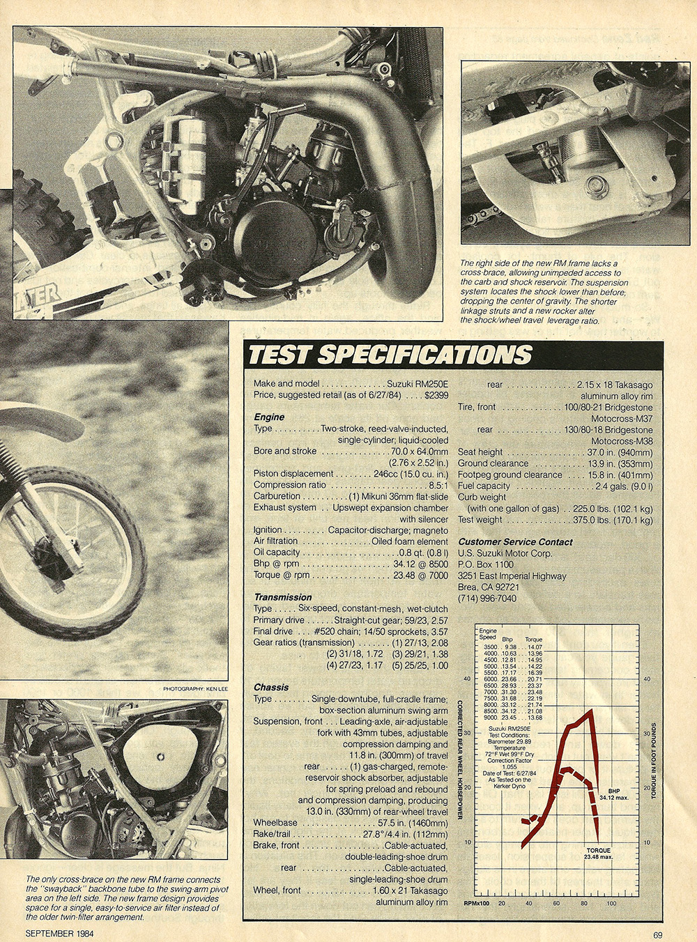 1984 Suzuki RM250 E road test 05.jpg
