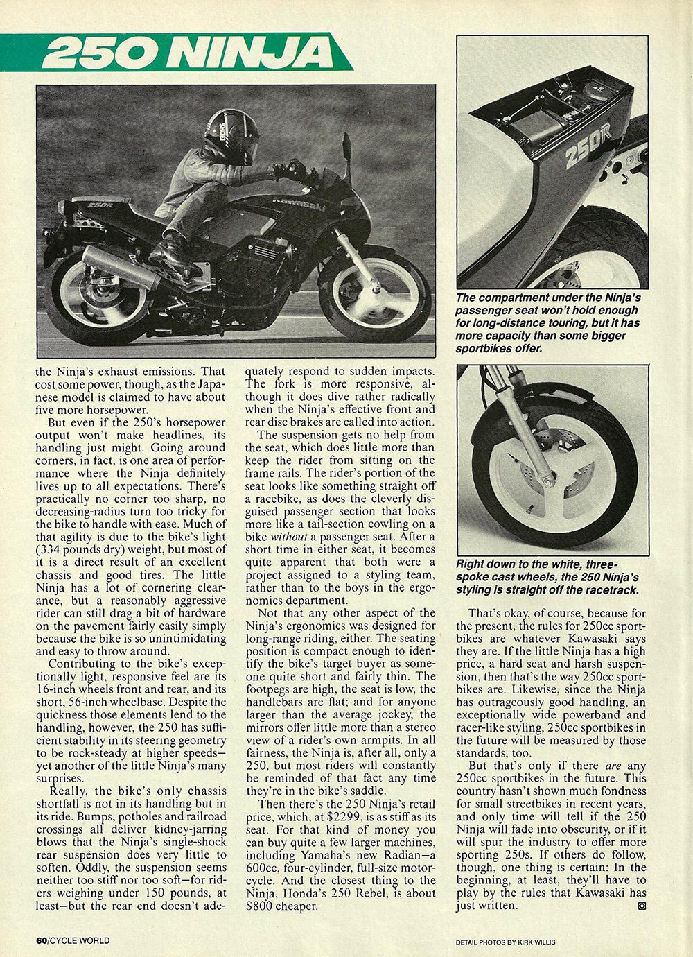 1986 Kawasaki Ninja 250 road test 03.jpg