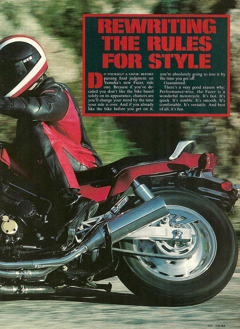 1986 Yamaha Fazer FZX700 road test 02.jpg