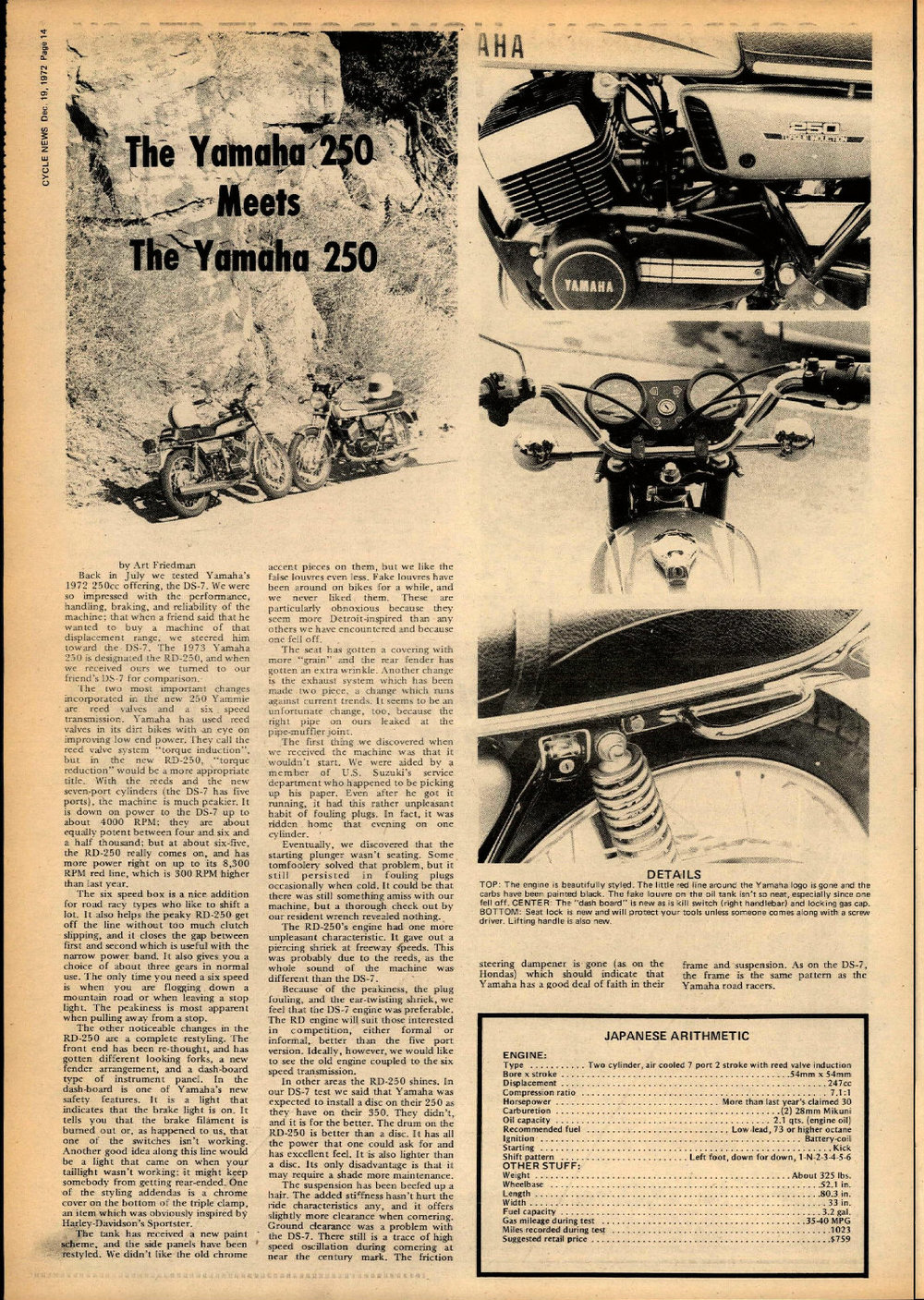 1973 Yamaha RD250 vs DS-7 01.jpg