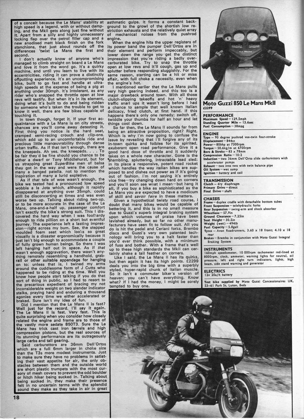 1979 Moto Guzzi 850 LeMans MkII road test 03.jpg