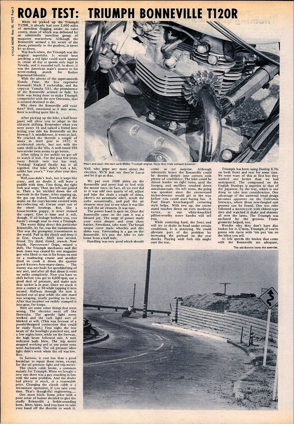 1972 Triuimph T120R Bonneville road test 01.jpg