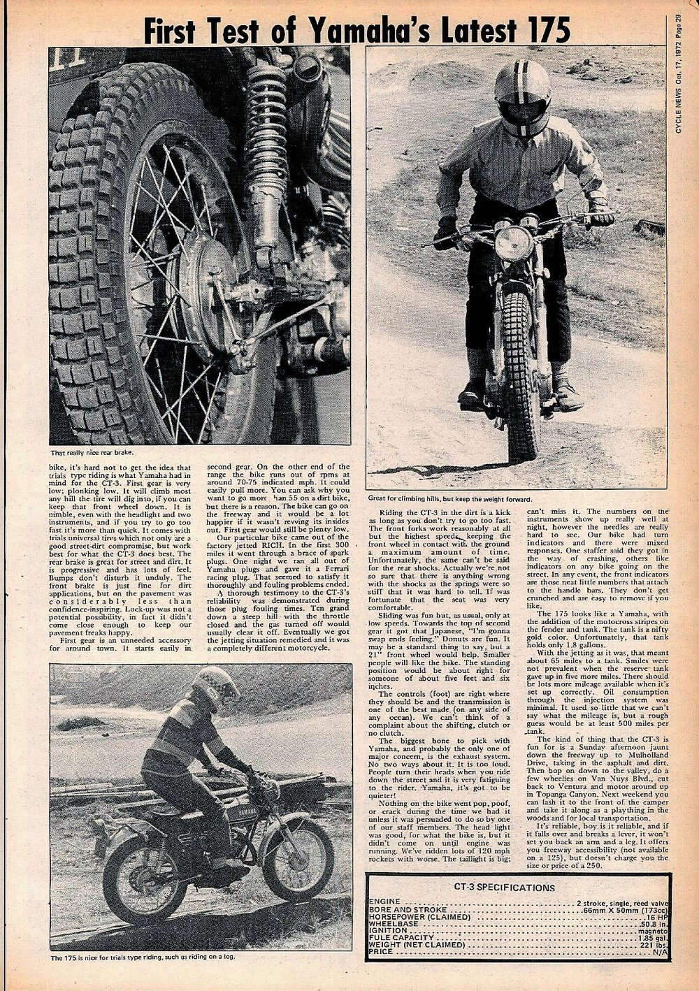 1972 Yamaha CT3 175 road test 02.jpg