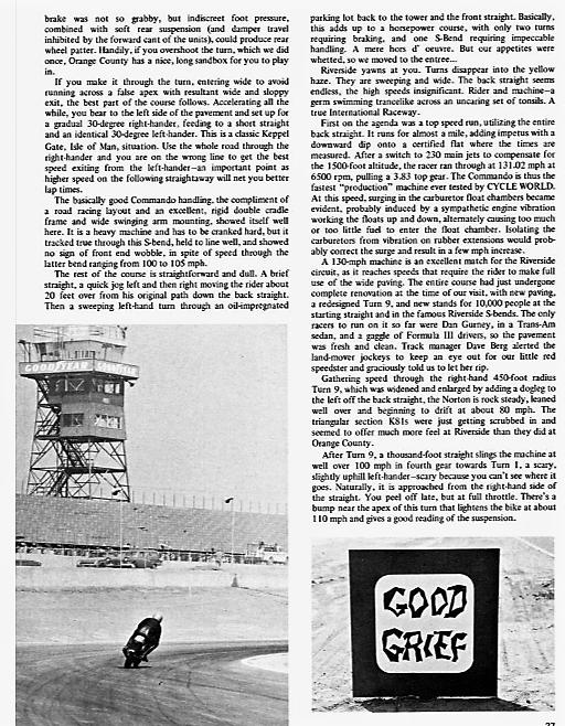 Norton Commando proddie racer track test 1969. 5.png