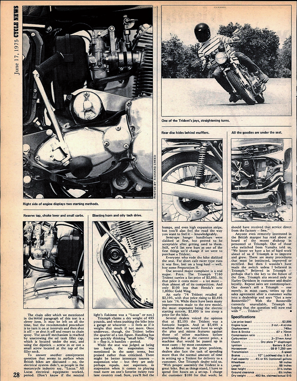 1975 Triumph T160 road test. 4.jpg