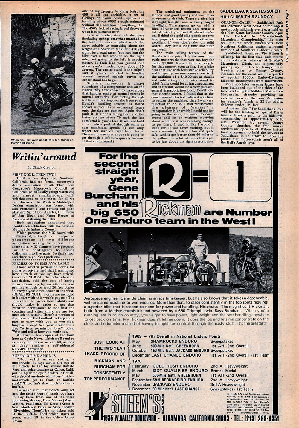 1971 Honda 450 road test. 2.jpg