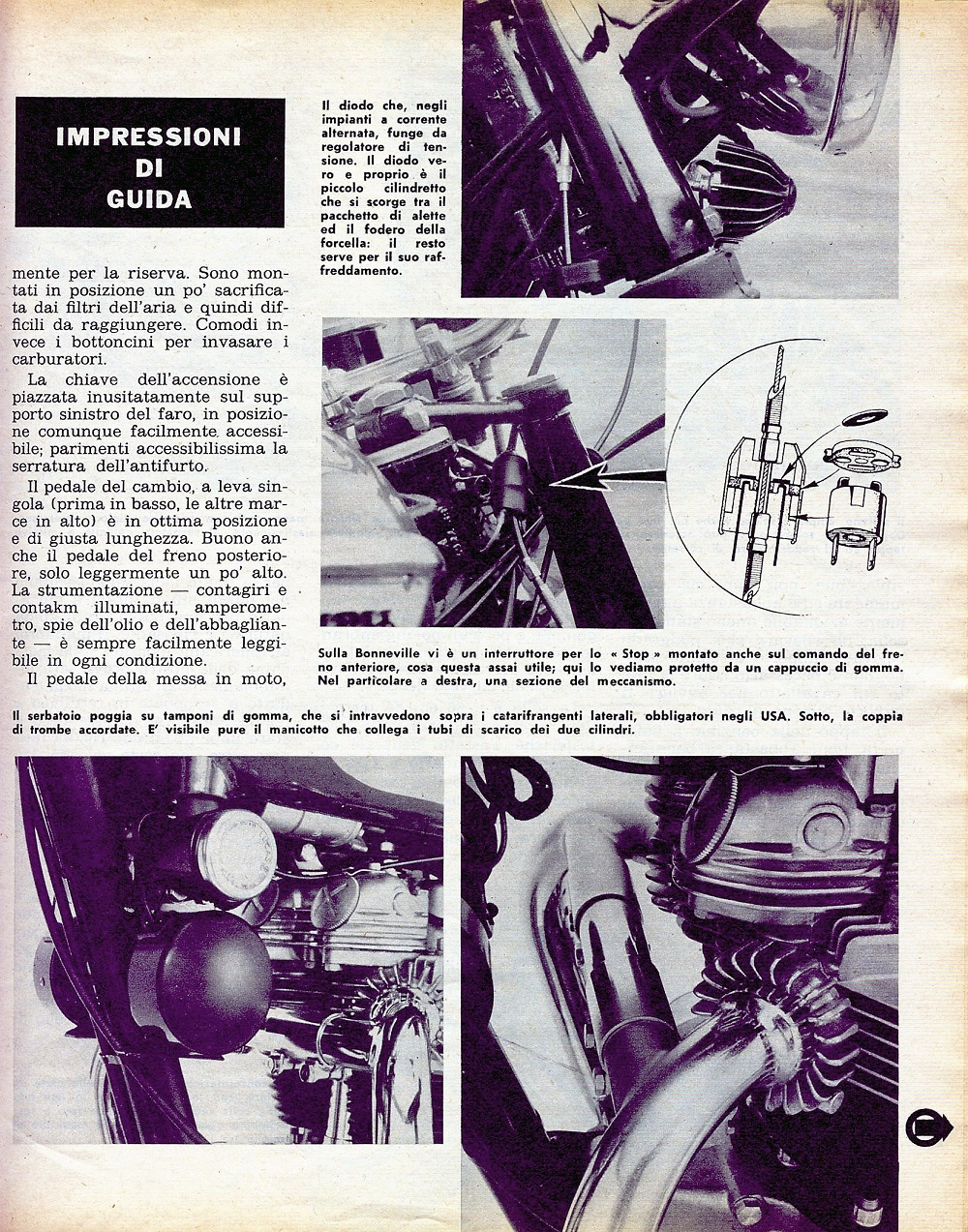 1969 Triumph Bonneville road test. 4.jpg