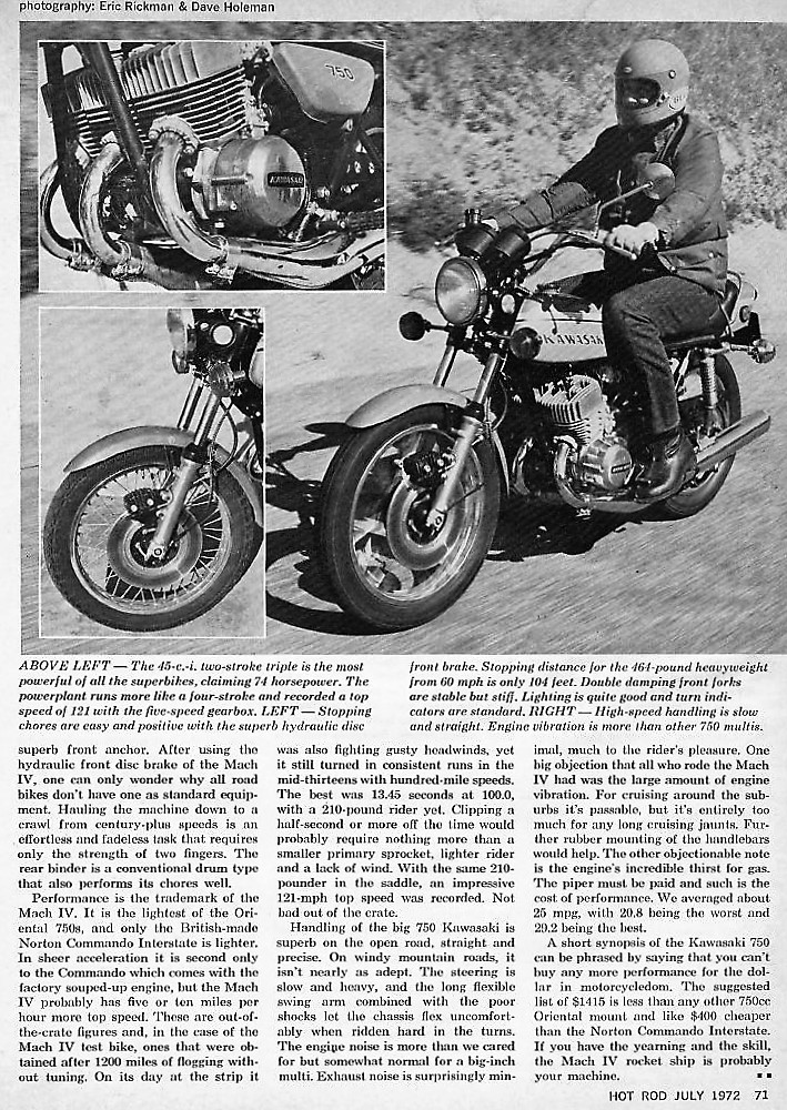 1972 Kawasaki H2 road test. 2 .jpg