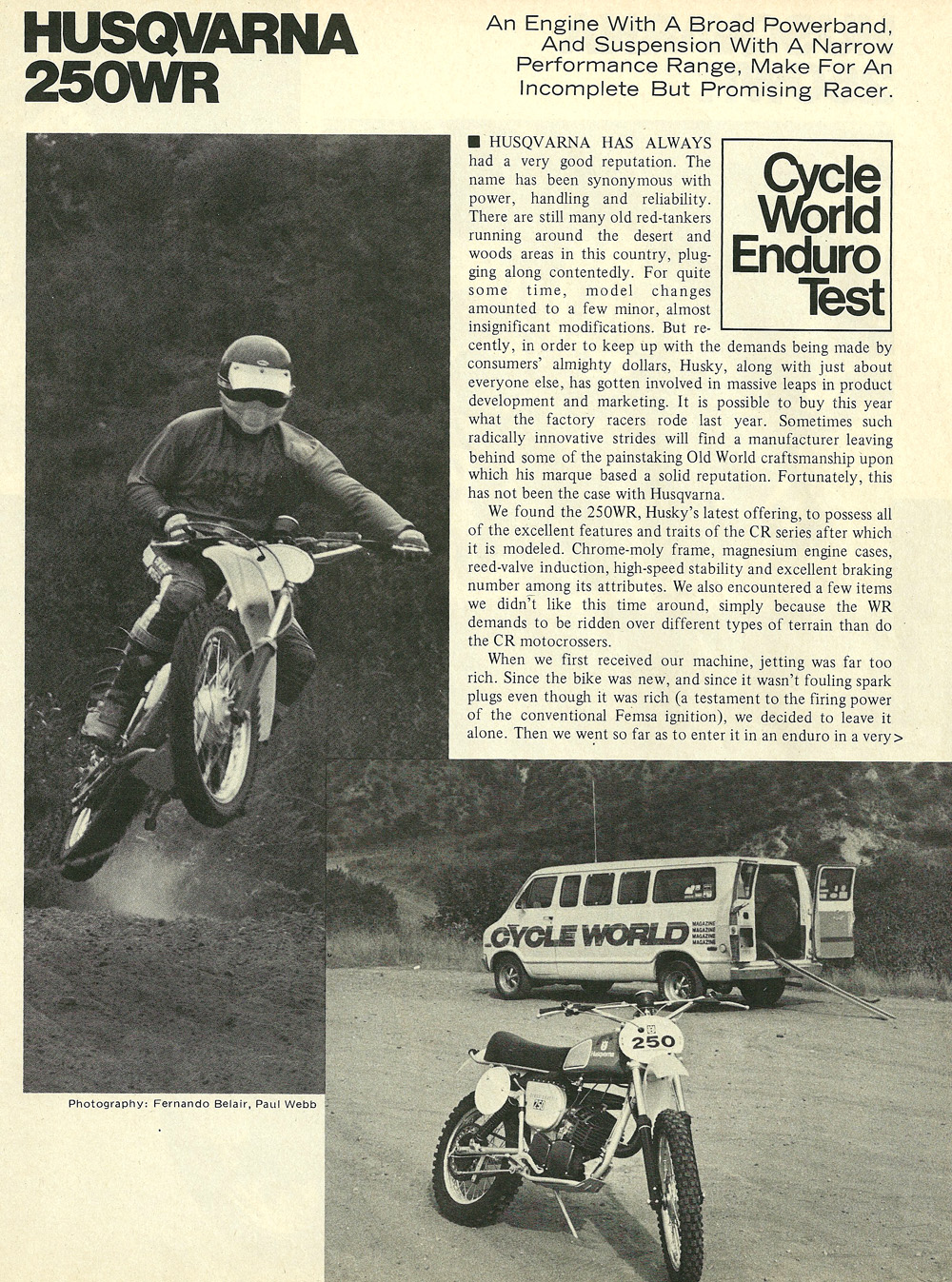 1976 Husqvarna 250WR road test 01.jpg