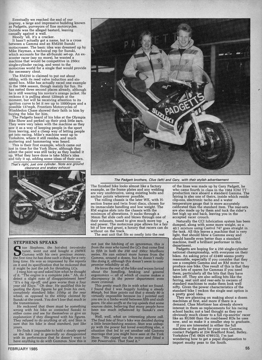 1985 Suzuki RG250 Gamma road test.5.jpg