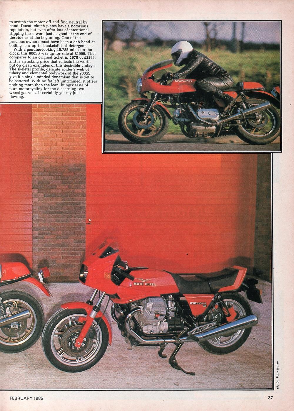 1979 Ducati 900SS & 1981 Moto Guzzi Le Mans 111 road test.4.jpg