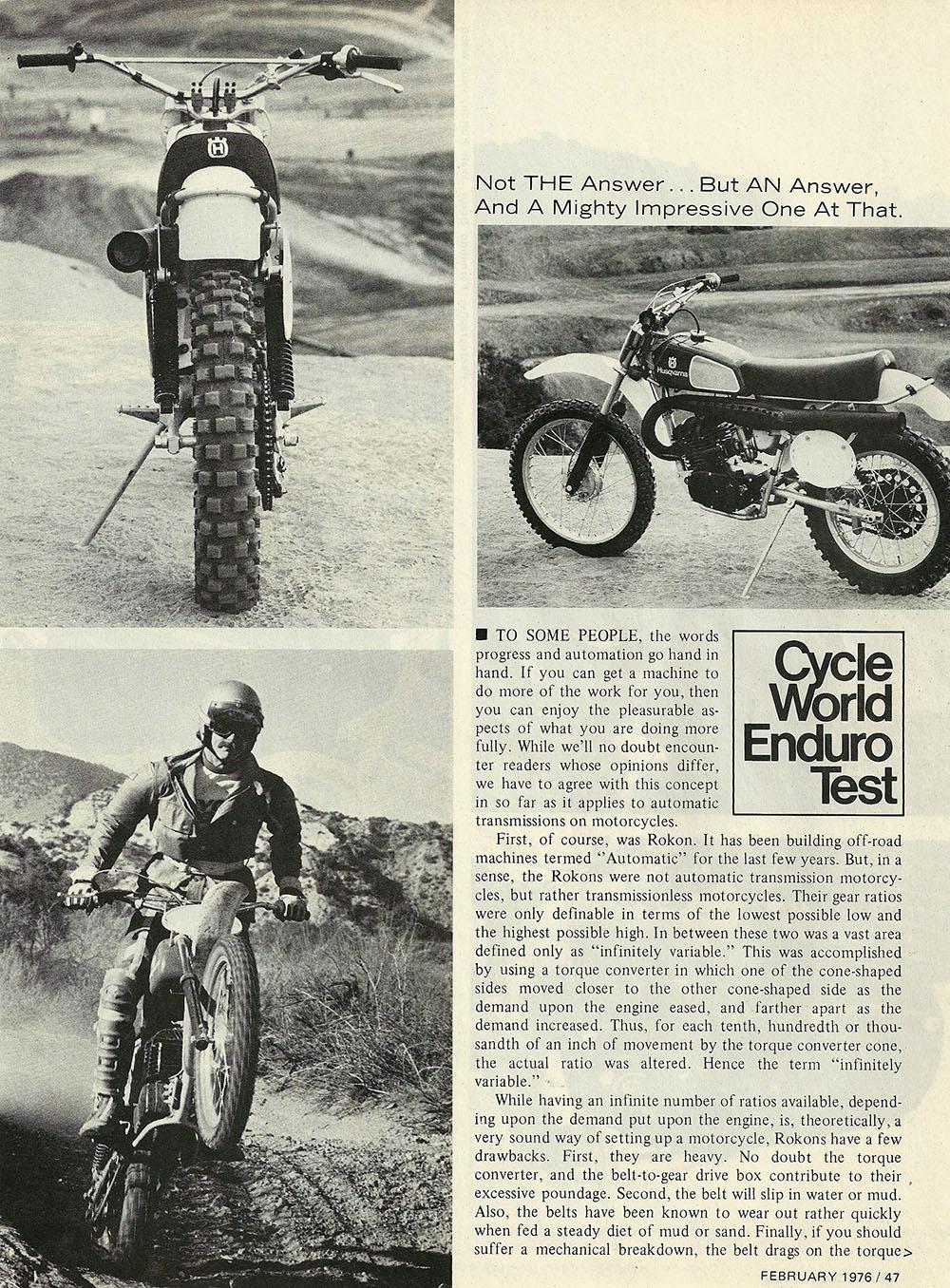 1976 Husqvarna 360 Auto road test 02.jpg