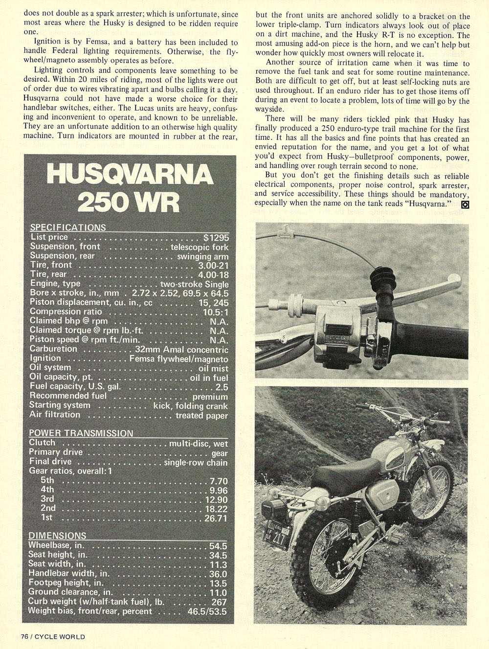 1973 Husqvarna 250 wr road test 05.jpg