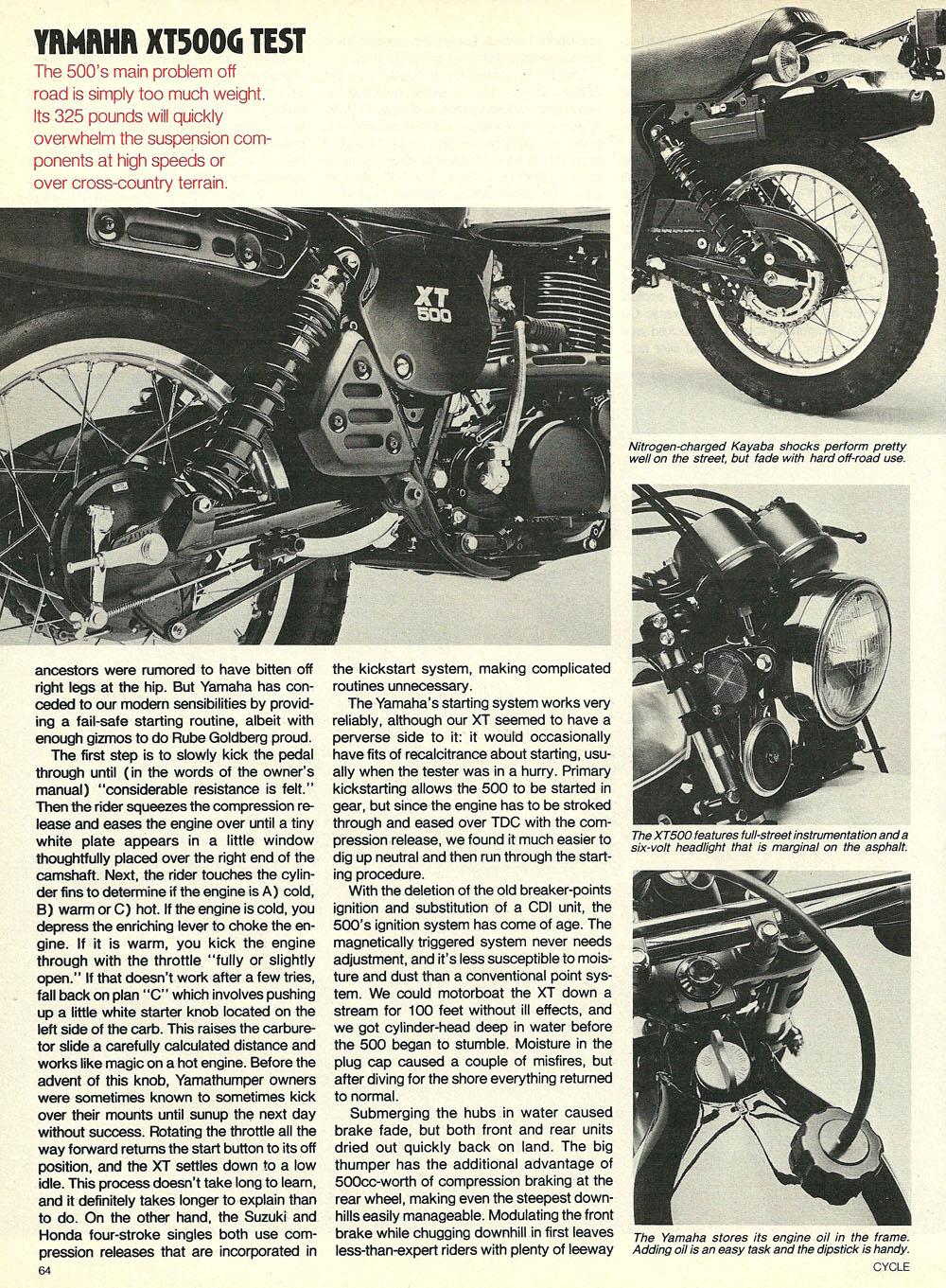 1980 Yamaha XT500G road test 04.jpg