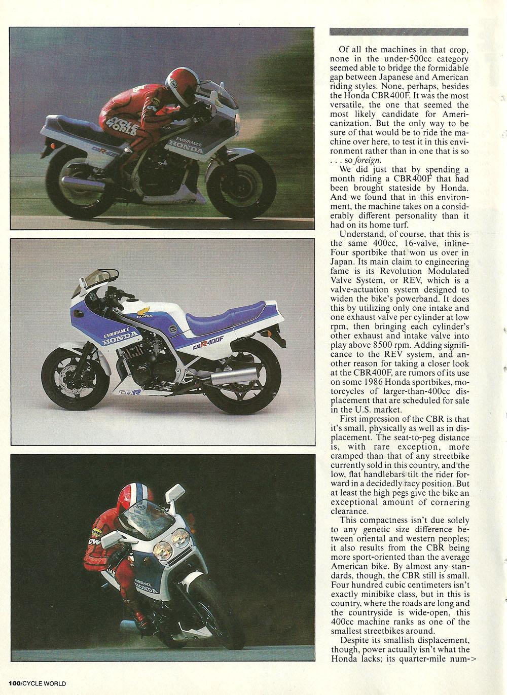 1985 Honda CBR400F road test 02.jpg