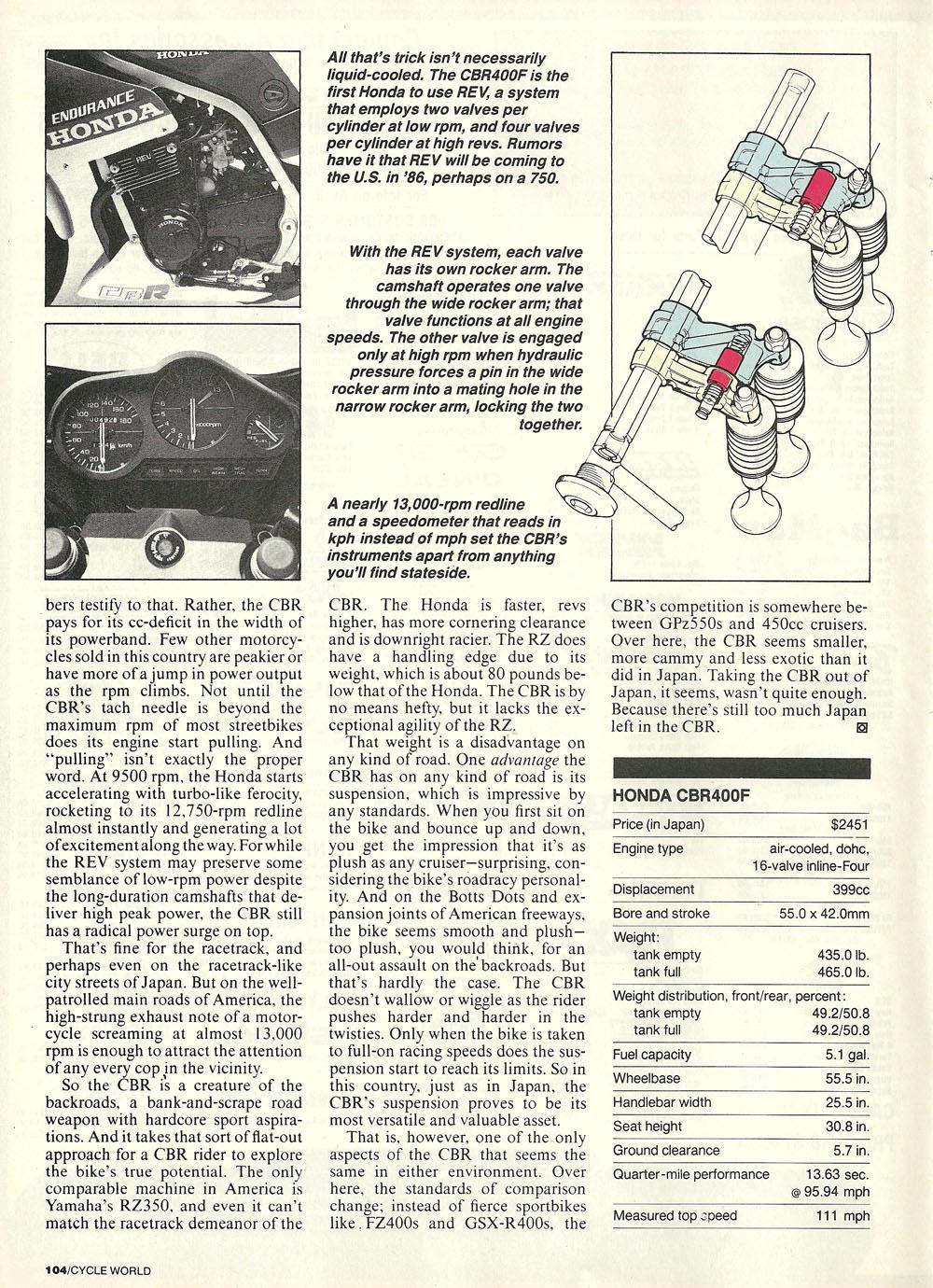 1985 Honda CBR400F road test 03.jpg