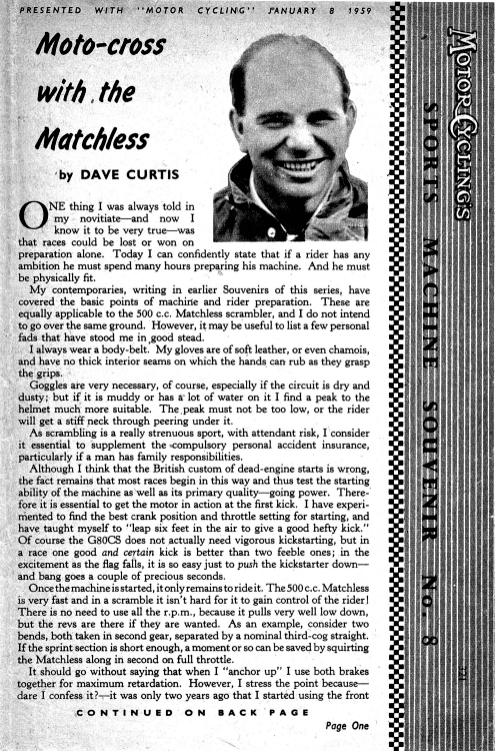 1958 Matchless G80CS. A post war history.1.jpg