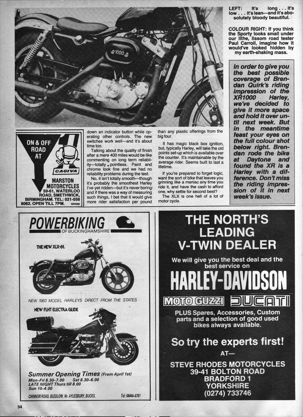 1983 Harley XLX 1000 road test.4.jpg