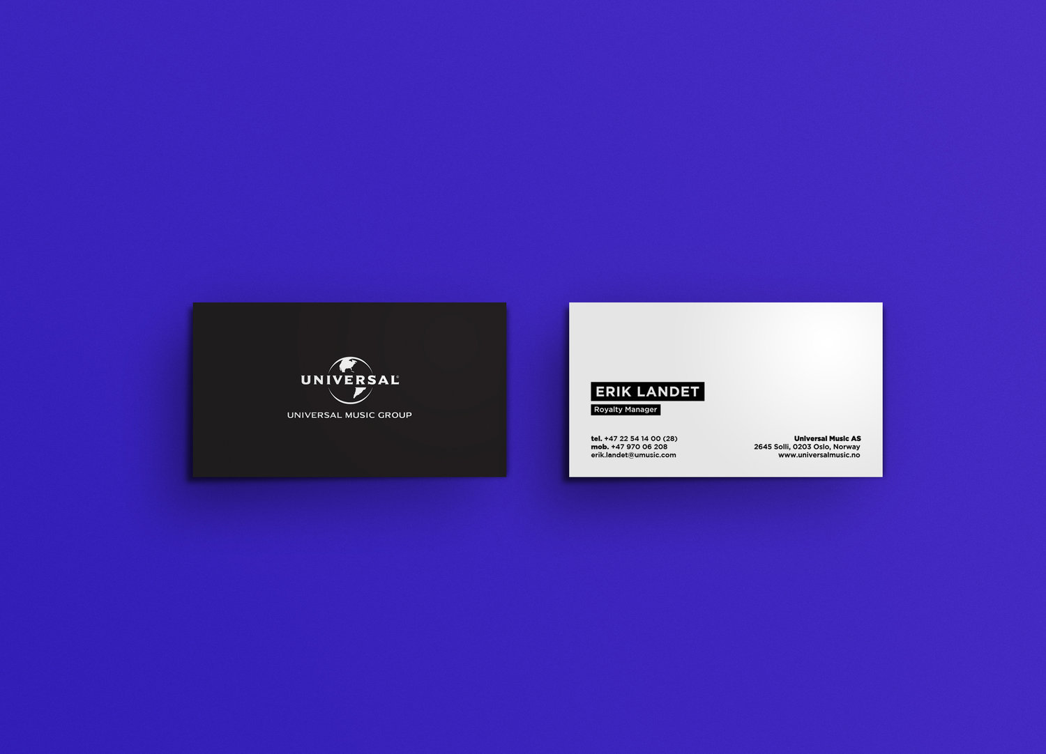 Universal music group universal business cards magicingreecefo Images