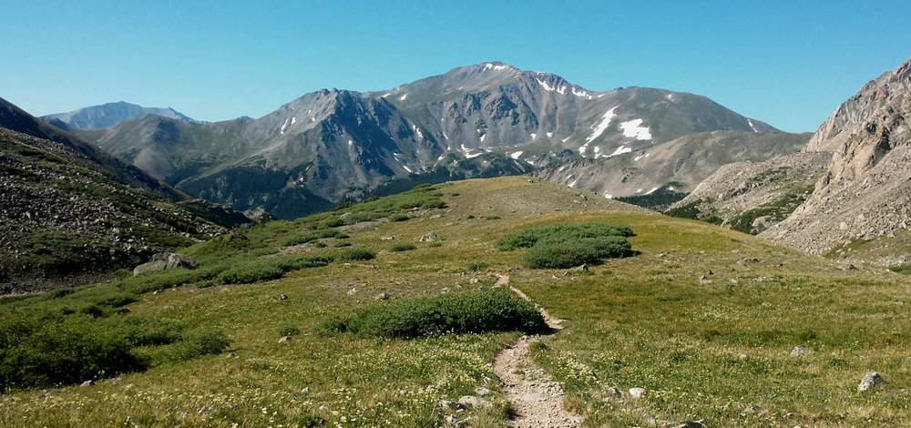 Mount Harvard Trail Buena Vista Colorado