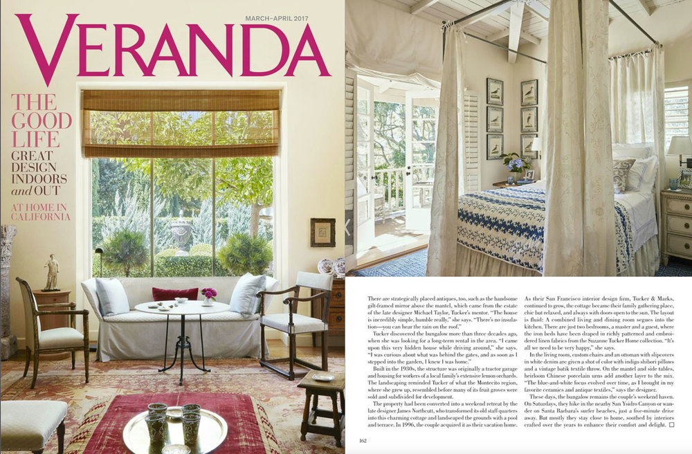 Veranda features Les Indiennes! - March /April 2017
