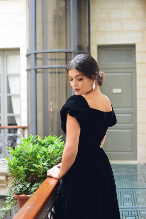 Fashion blogger Romea Adler Ulyana Sergeenko palazzo Consiglia.JPG