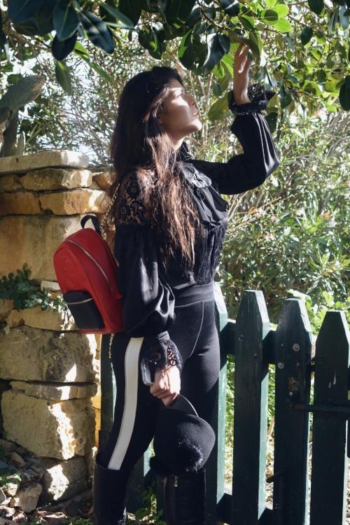 Romea Adler Fashion blogger gucci chanel louis vuitton top shop ta cenc hotel spa ranch new year