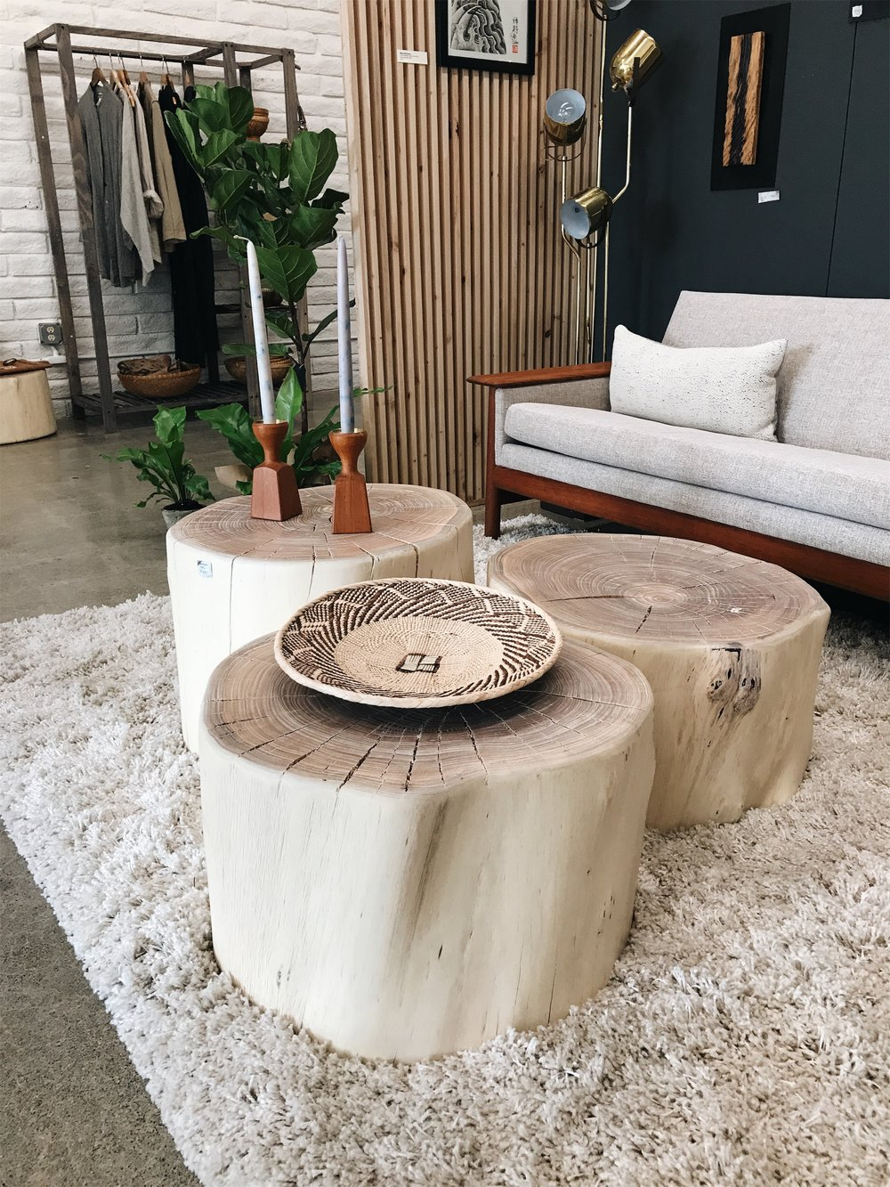 Eucalyptus Tables